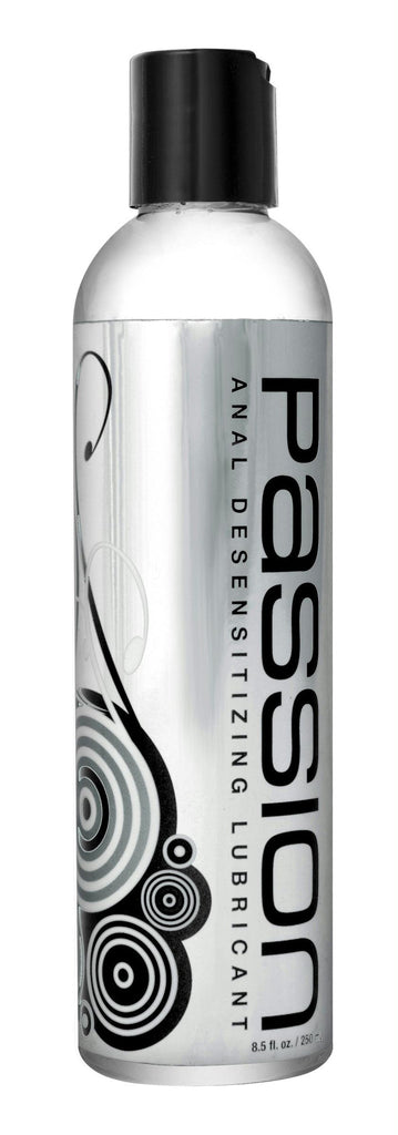 Passion Anal Desensitizing Lubricant with Lidocaine - 8.5 oz - Bedroommadness - 2