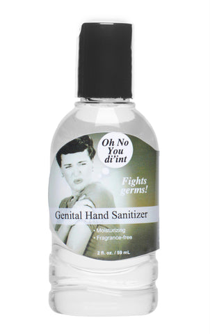 Oh No You Di-int Genital Hand Sanitizer- 2 oz - Bedroommadness - 2