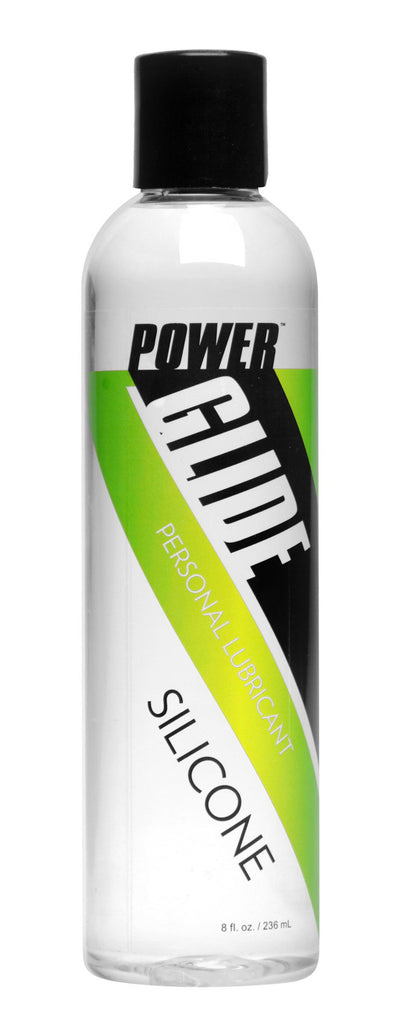 Power Glide Silicone Based Personal Lubricant- 8 oz - Bedroommadness - 2