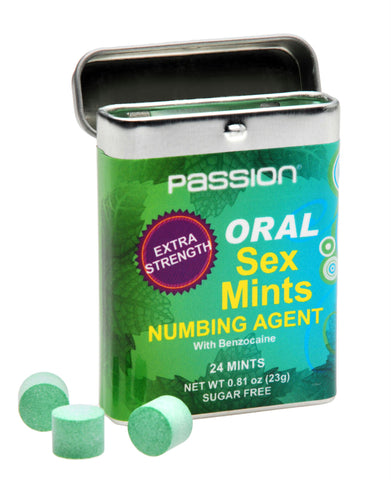 Oral Sex Mints with Extra Strong Numbing Agent - Bedroommadness - 2