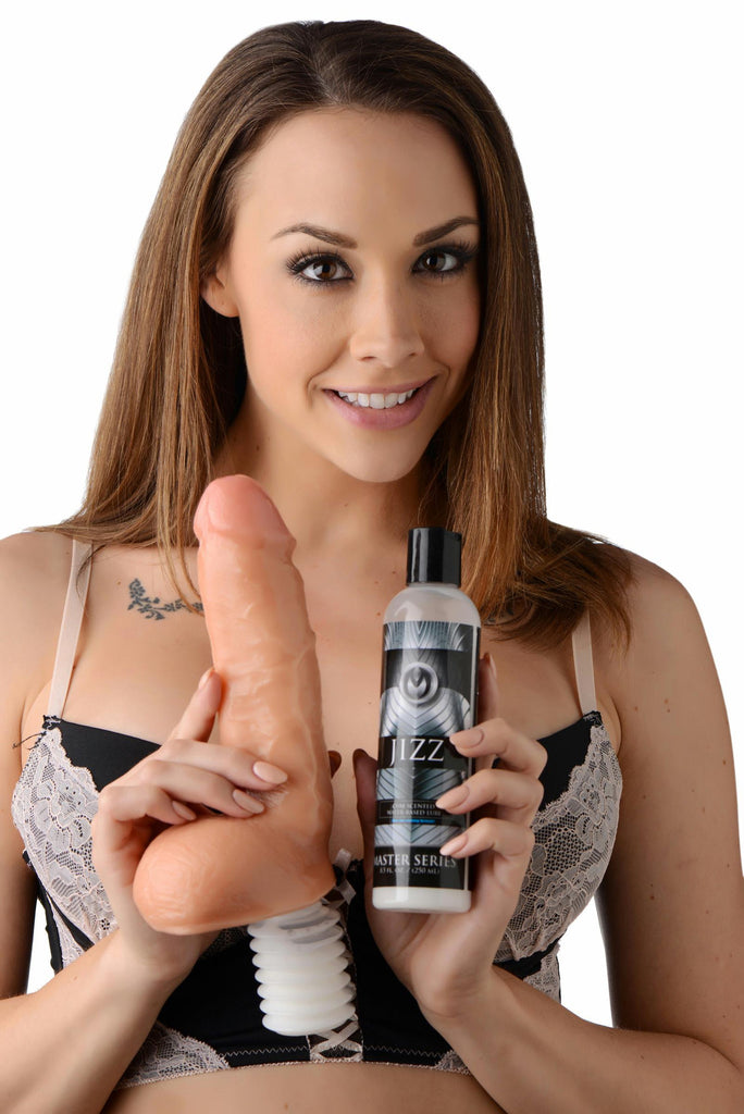 Cum Shot Ejaculating Dildo with Jizz Lube - Bedroommadness - 2