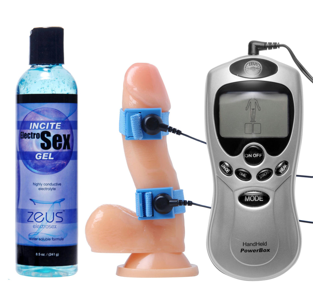 Electrosex Essentials 3 Piece Kit for Him - Bedroommadness - 2