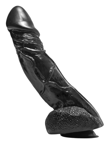 Big Black Bob 11 Inch Suction Cup Dildo - Bedroommadness - 2