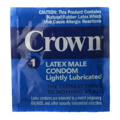 Crown Condoms 100 pack - Bedroommadness