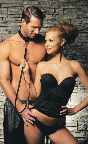 Leather Leash and Collar - Bedroommadness - 2