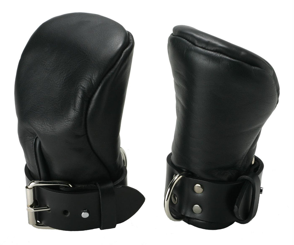 Strict Leather Deluxe Padded Fist Mitts- ML - Bedroommadness - 2