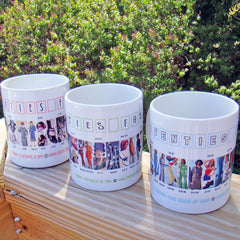 Fashion History Mugs
