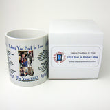 1922 Year In History Coffee Mug with Gift Box