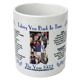1922 Year In History Coffee Mug
