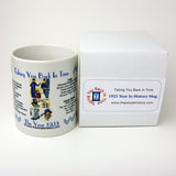 1923 Year In History Coffee Mug with Gift Box
