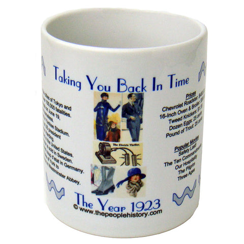 1923 Year In History Coffee Mug