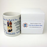 1924 Year In History Coffee Mug with Gift Box
