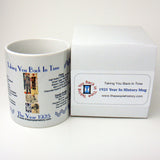 1925 Year In History Coffee Mug with Gift Box