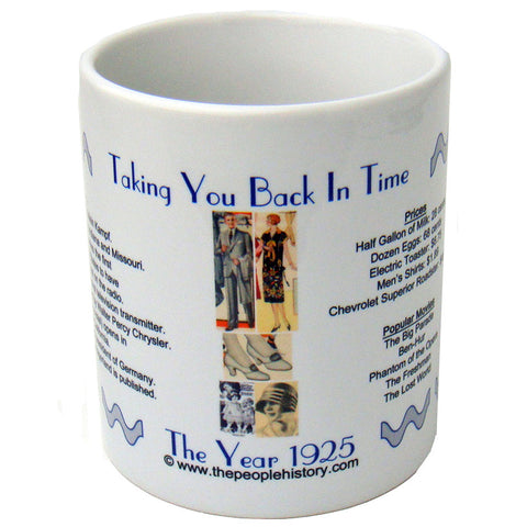 1925 Year In History Coffee Mug
