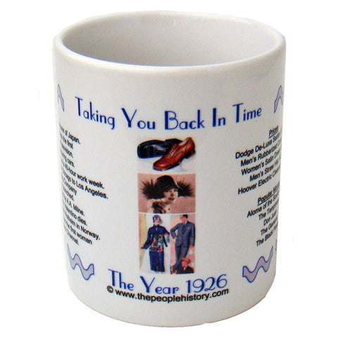 1926 Year In History Coffee Mug