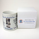 1927 Year In History Coffee Mug with Gift Box