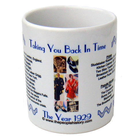 1929 Year In History Coffee Mug