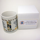 1937 Year In History Coffee Mug with Gift Box