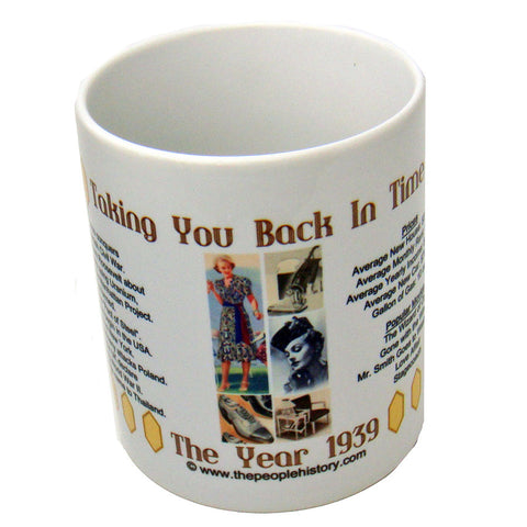 1939 Year In History Coffee Mug