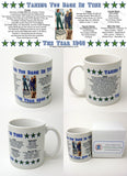 1940 Year In History Coffee Mug with Gift Box