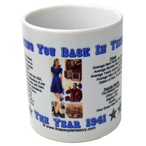 1941 Year In History Coffee Mug