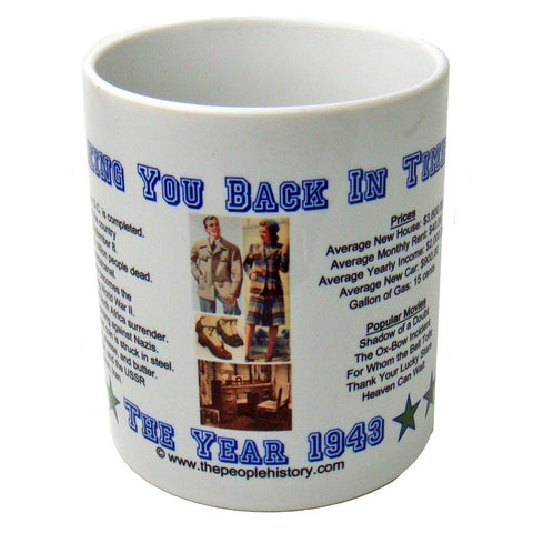1943 Year In History Coffee Mug