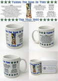 1944 Year In History Coffee Mug with Gift Box