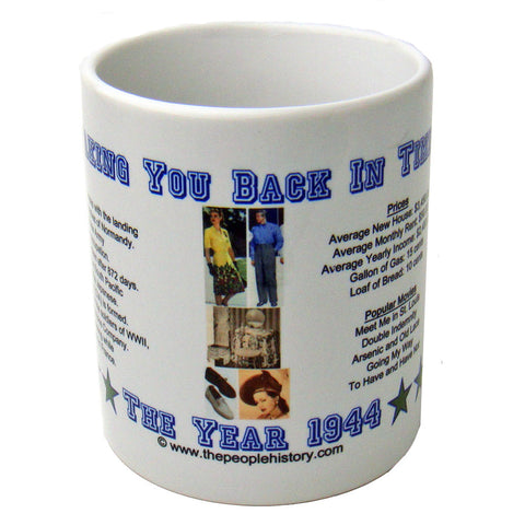 1944 Year In History Coffee Mug
