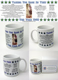 1945 Year In History Coffee Mug with Gift Box