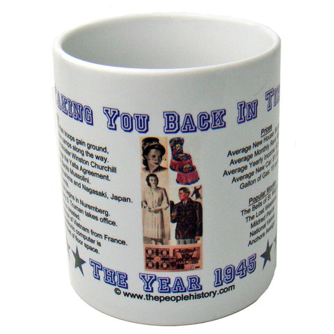 1945 Year In History Coffee Mug