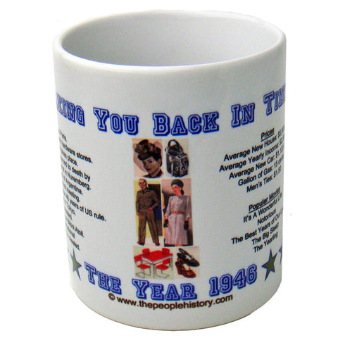 1946 Year In History Coffee Mug