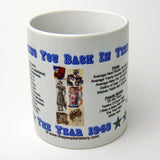 1949 Year In History Coffee Mug