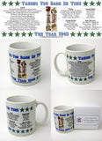 1949 Year In History Coffee Mug with Gift Box