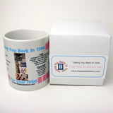 1950 Pink Year In History Coffee Mug with Gift Box