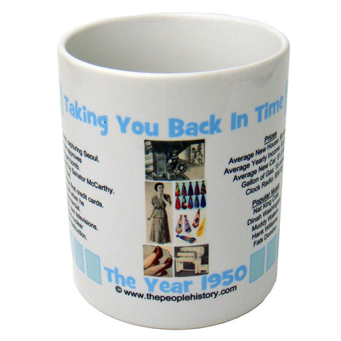 1950 Year In History Coffee Mug