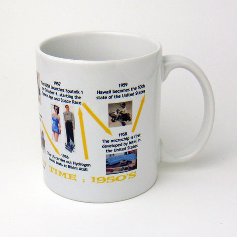 Fifties Decade Mug