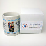 1953 Blue Year In History Coffee Mug with Gift Box