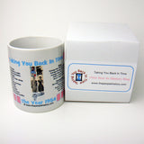 1954 Pink Year In History Coffee Mug with Gift Box