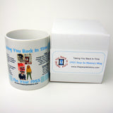 1955 Blue Year In History Coffee Mug with Gift Box