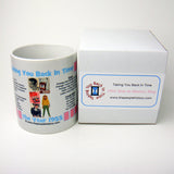1955 Pink Year In History Coffee Mug with Gift Box