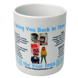 1955 Year In History Coffee Mug