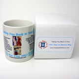 1957 Blue Year In History Coffee Mug with Gift Box
