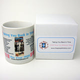 1958 Pink Year In History Coffee Mug with Gift Box