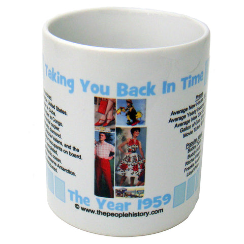 1959 Year In History Coffee Mug