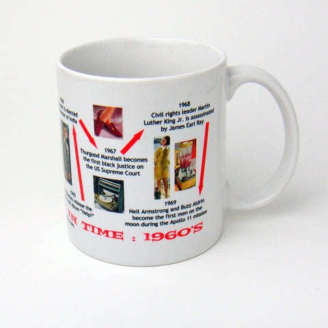 Sixties Decade In History Coffee Mug