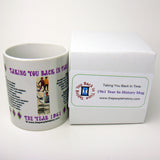 1961 Year In History Coffee Mug with Gift Box