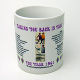 1961 Year In History Coffee Mug