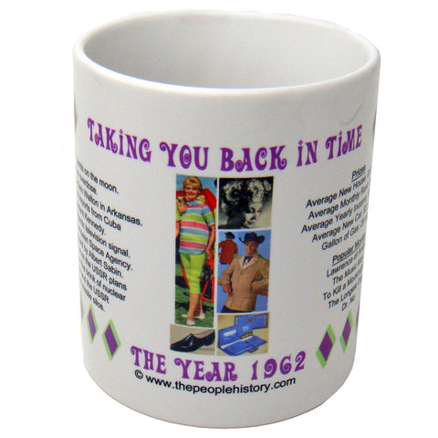 1962 Year In History Coffee Mug
