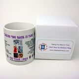 1963 Year In History Coffee Mug with Gift Box