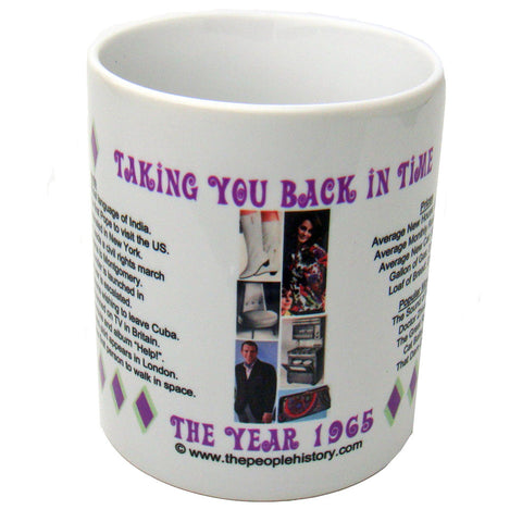 1965 Year In History Coffee Mug